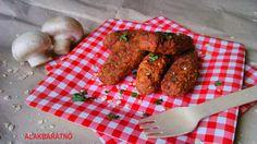Gombafasírt zabpehellyel diétás ebédre! Diétás Zöldségfasírt recept gombából, diétás gombás ételek, receptek fogyókúrás, IR diétás, cukorbeteg étrendhez! >>