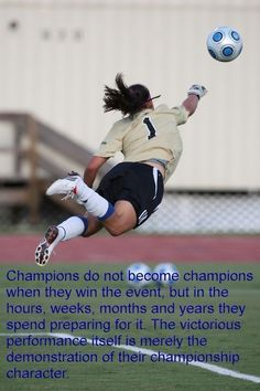 Soccer Quotes for Girls | Soccer Girl Quotes Soccer Quotes #Soccer #Quotes
