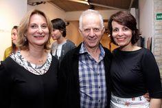 Cintia Buschinilli, Jorge Schwartz e Roberta Saraiva
