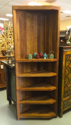 Reclaimed Teak Bookshelf Bookshelves, Bookcase, Teak, Liquor Cabinet, Asian, Storage, Accessories, Furniture, Home Decor