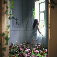 And every day he would fill her room with more and more blooms, but she never grew fonder of him. The more his devotion, the more she despised him...