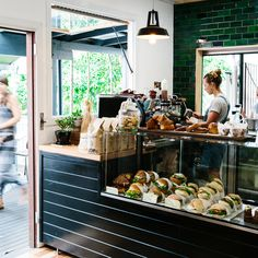 Corner Kitchen, located on the charmingly old-fashioned main street of Bangalow, a short drive west from Byron Bay.