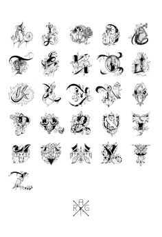 Love Letters - Hand Drawn Alphabet on Behance