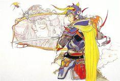 """""""Final Fantasy I"""" by Yoshitaka Amao - love the armor"""