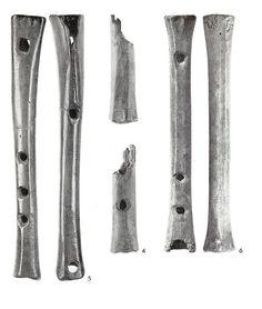 Music 10-11th century Haithabu, N-Germany flutes