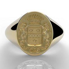 Ring Sketch, Ring Bear, Family Crest, Wax Seals, Gravure, Signet Ring, Coat Of Arms, Rings For Men, Monogram