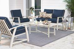 St. Augustine 5-Piece Outdoor Seating Set