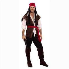 #pirate CAPPELLO Deluxe Velluto Costume Adulto
