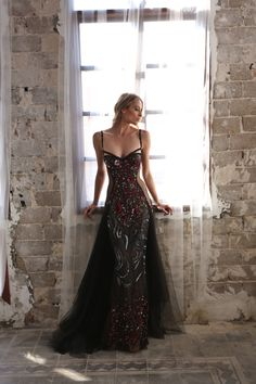 Black Pearl Evening Wear - Galia Lahav Collection 2016 @Maysociety