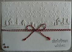 white on white christmas cards - Google Search