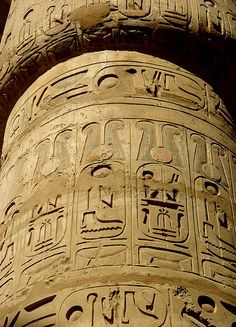 Glyphs - Luxor, Egypt                                                                                                                                                                                 More