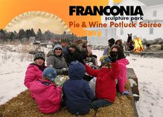 Franconia Sculpture Park Pie & Wine Potluck Soiree — Looks Kid Friendly to Me!!! | Family Fun Twin Cities