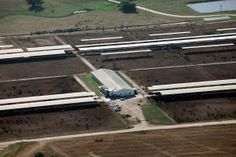 Cornucopia's Aerial Photography Investigates Factory Farm Cheating by Will Fantle Chino Valley's poultry operation in Texas is estimated to confine hundred