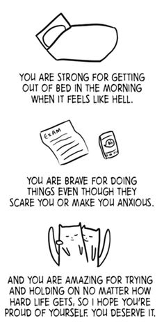 You are strong, you are brave, you are amazing. #chronically_ill #chronic_illness #strength #hope #pain #health