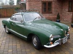 "Green Karmann Ghia - really the only car I have ever seen and thought ""wow that's pretty"""