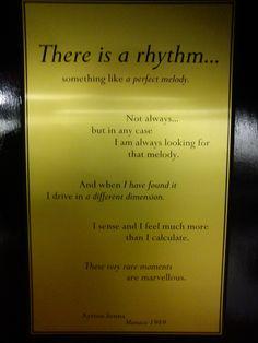 Ayrton Senna's quote. r.i.p.