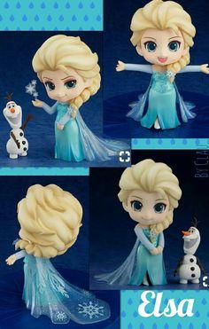 NEW Frozen Disney Japan Anime Figure Nendoroid Elsa the Snow Queen of Arendelle Frozen Film, Elsa Frozen, Disney Frozen, Elsa Olaf, Anna Disney, Cute Disney, Disney Art, Frozen Dolls, Frozen Princess