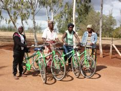Mozambikes, Change Lives with Bicycles - Plan and organize donation events in rural Mozambique, selecting candidates and being present when we are able to change their lives with the donation of a bicycle.