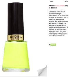 Revlon I want this color... Now!