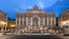 Fontana di Trevi, Rome, Lazio, Italy
