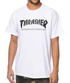 c870e70505fb NWT Authentic Thrasher Skate Mag White Tee  fashion  clothing  shoes   accessories