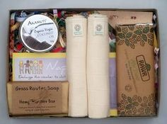 £15 An eco and luxurious present for a new mum: natural & organic products nestled in a bespoke box
