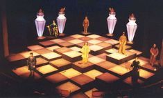 chess with figurines, Sinclair Community College