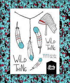 Tatuaże zmywalne Wild Thing