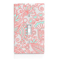 Home Decor Light Switch Cover, Printed Candy Color Floral, Housewarming  Gift, Lighting, Bedroom Decor, Bathroom Decor, Kitchen Decor, Gift