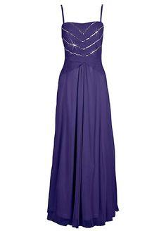 Bandeau Chiffon Evening Dress