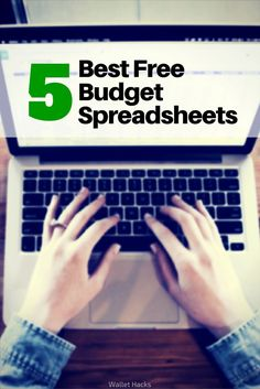 Best Microsoft Excel Budgeting Spreadsheets – Free Household Budgeting Templates You Can Use! via @wangarific | best budgeting tools | budgeting tips and tricks | how to use a budget spreadsheet | how to stick to a budget | personal finance tips || Wallet Hacks