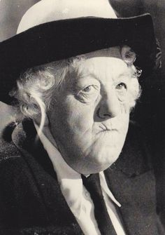 Margaret Rutherford Love watching her in Miss Marple movies...and Mr. Stringer was her real husband!!