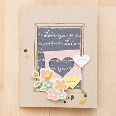 Hearts Card by maggie holmes at @Studio_Calico