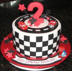 Lightning McQueen Birthday Cake Cars Parties Boy Cakes Ideas