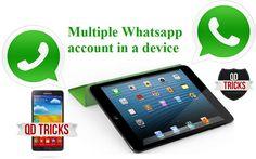 #Multiple Whatsapp Accounts | #Dual #Whatsapp #Accounts in Single Device