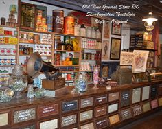Old Time Country Store Nastalgia St. Augustine by ralphbischoff, $11.00