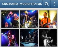Snapshot of my cromano_musicphotos for  instagram tips {LR settings for IG} via Chris Romano Photography
