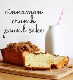 Cinnamon Crumb Pound Cake Recipe - moist and delicious!