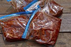 Crockpot Pineapple Chicken, Spicy Chicken Soup, Chicken Fajitas, Crock Pot Freezer, Freezer Meals, Bbq Marinade, Bun Cha, Marinate Meat, Dump Meals