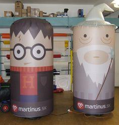 Reklamný maskoti Martinus - nafukovacie reklamné postavičky