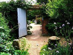 Old garden gates & walls