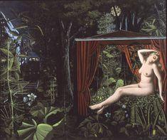"artimportant: "" Paul Delvaux - The Forest, 1948 """