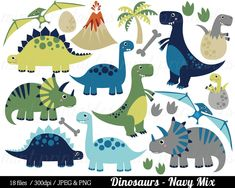 Dinosaur Clipart, Dinosaurs Clip Art, Tyrannosaurus Rex Stegosaurus Triceratops pterodactyl Egg - Commercial & Personal - BUY 2 GET 1 FREE! Dinosaur Pattern, Dinosaur Art, Cute Dinosaur, Dinosaur Images, Sheldon The Tiny Dinosaur, Pokemon Bulbasaur, Watercolor Clipart, Party Banner, Illustrator