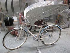 Art Bikes up for Auction at the SF Fine Art Fair