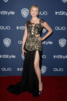 Maggie Grace - 2014 InStyle and Warner Bros. Golden Globe Awards Post-Party (January 12, 2014).
