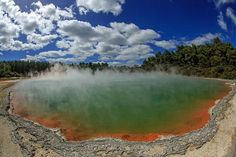 20 surreal places you need to see to believe, Wai-o-tapu Thermal Wonderland, Rotorua, New Zealand.