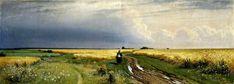 IVAN SHISHKIN Road in the rye, 1866