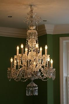 Waterford chandelier from London