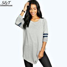 FANALA T-shirts 2017 Spring Long Casual T Shirt