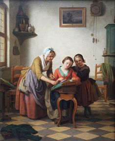Basile De Loose Lace Making Interior Richard Taylor Fine Art Time In Germany, Daughters Of Charity, Oil Portrait, Sewing Lessons, Lace Making, Magazine Art, Art Market, Oil On Canvas, 19th Century